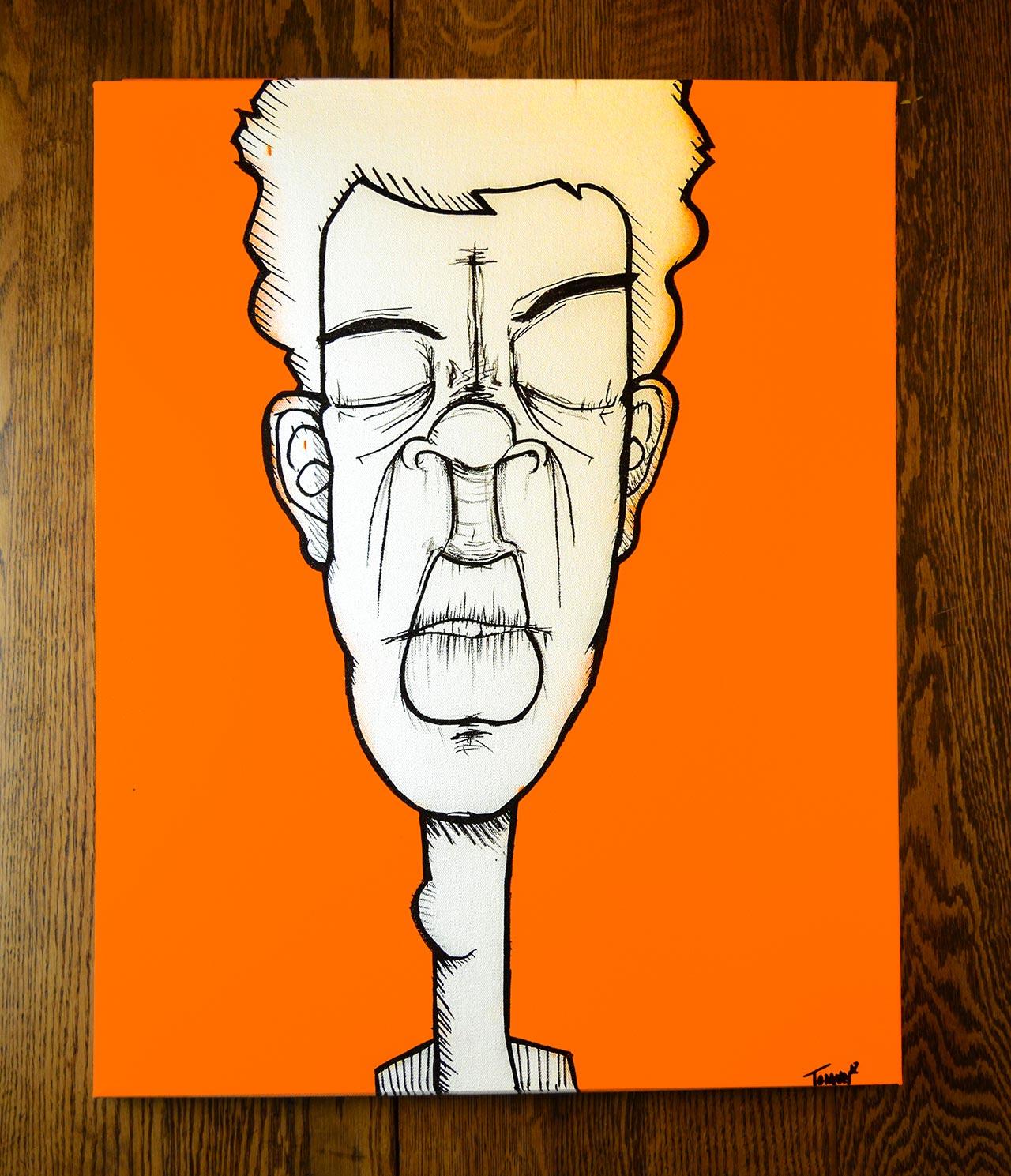 Orange-Face